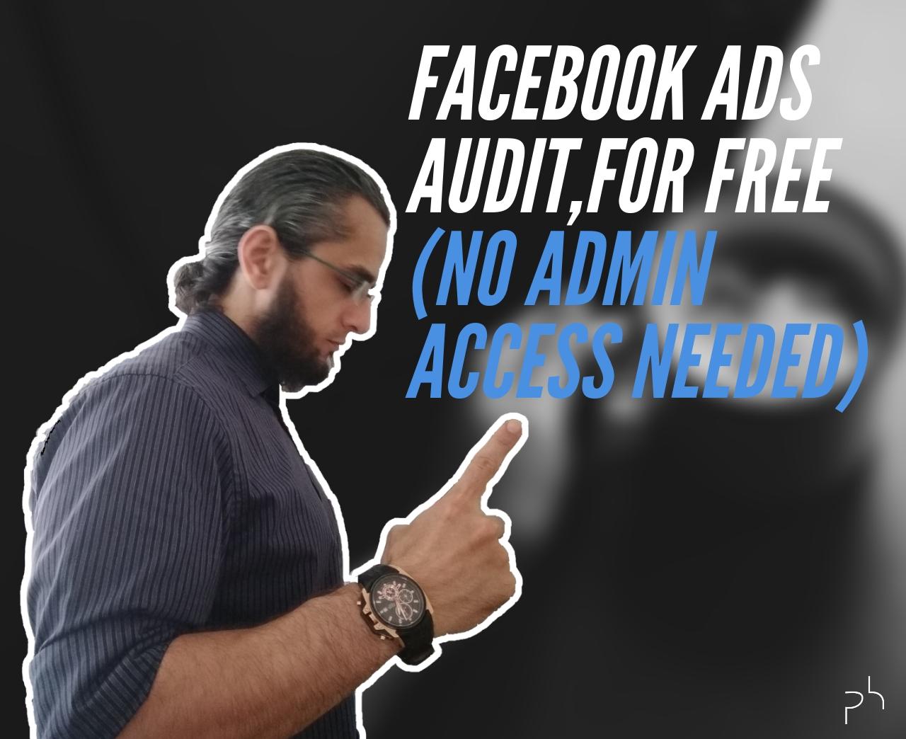 facebook ads audit-video thumbnail-Faruk Deveci-Polished Hustle Digital
