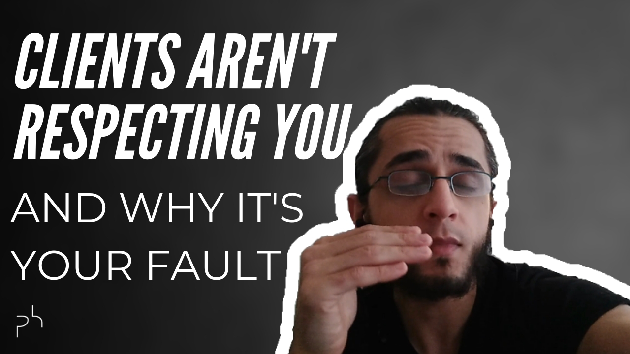 Clients don't respect you Thumbnail - Faruk Deveci